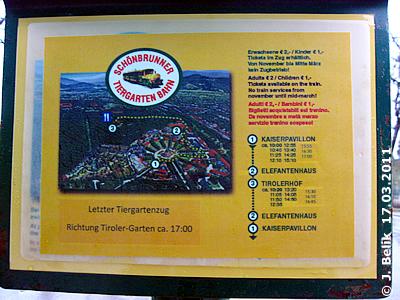 Fahrplan Und Fahrtroute, Bimmelzug, 17. März 2011